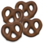 Tiny Milk Chocolate Pretzels