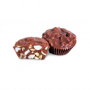 Milk Chocolate Coated Nut Cups
